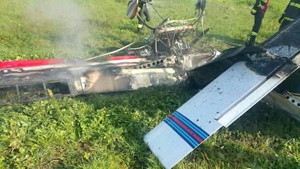 Aereo da turismo precipita a Pomezia: morto il pilota