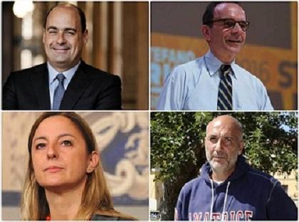 Regionali, quinta proiezione Rai: Zingaretti 33,5%, Lombardi 29%, Parisi 29,6%