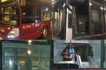 Piombini contro bus Atac a Tor Bella Monaca