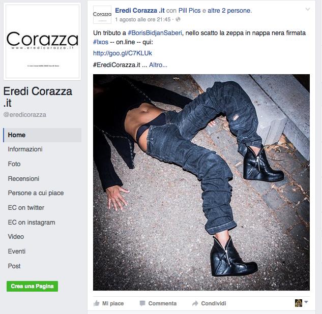 Pubblicità shock: la rivolta del web contro un negozio di scarpe