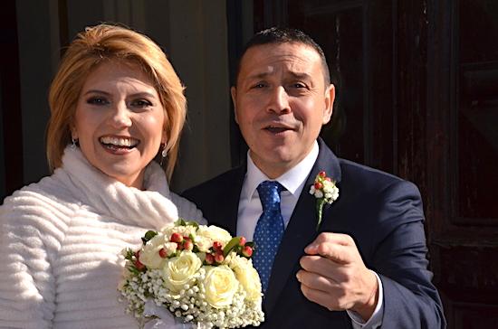 Fiori d'arancio: Andrea Mari e Susj Sebastianelli sposi