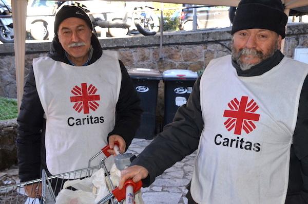 Sabato di raccolta alimenti e beni di prima necessità per la Caritas di Frascati