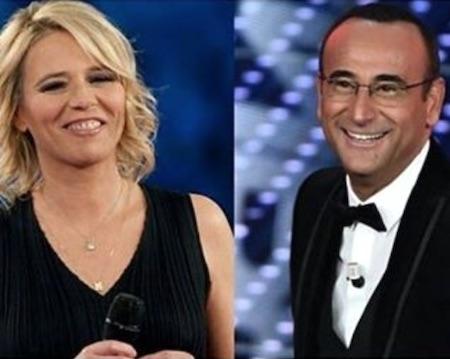 Maria De Filippi conduttrice del Festival di Sanremo 2017 con Carlo Conti?