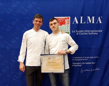 Lieti eventi davide andaloro diplomato al corso superiore di cucina italiana - Corso cucina italiana ...