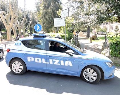 polizia villa albano
