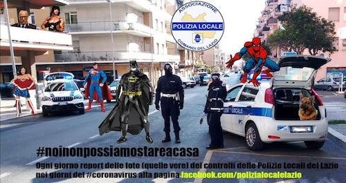 polizialocale supereroi ilmamilio