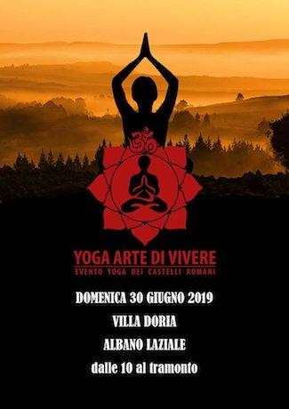yoga artevivere Albano ilmamilio
