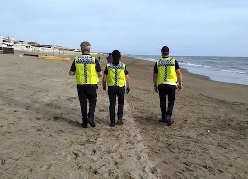 ardea controlli spiaggia polizialocale ilmamilio
