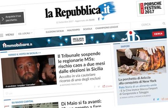 La porchetta di cioli fa 100 anni e porta ariccia sulla for Repubblica homepage it