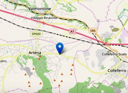 terremoto artena 200403 ilmamilio