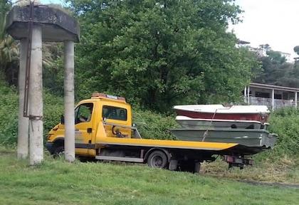 sequestro barche castelgandolfo ilmamilio