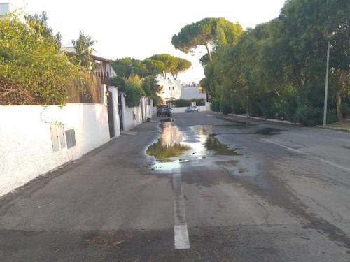 perdita acqua viaTrevignano cerenova ilmamilio