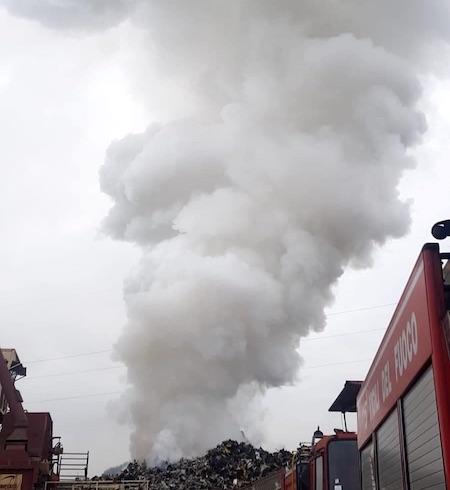 incendio colleferro2 ilmamilio