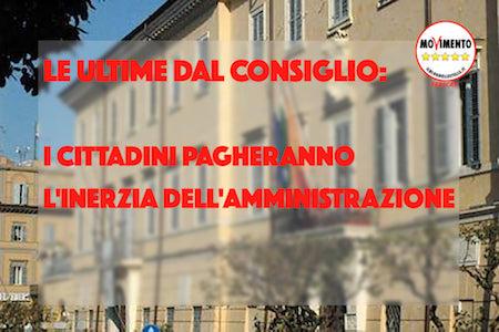 """I 5 stelle: """"Mentre Frascati paga un conto salatissimo c'è chi pensa a farsi i selfie"""" - ilmamilio.it - L'informazione dei Castelli romani"""