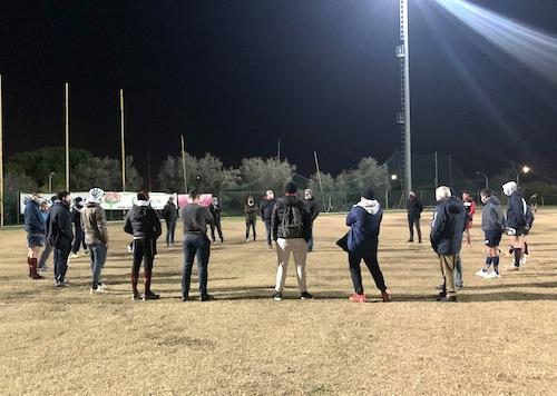 allenamento congiunto rugby frascati ilmamilio