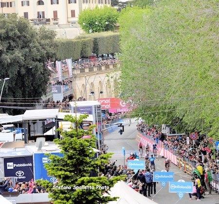 arrivo Giro frascati 2019 ilmamilio