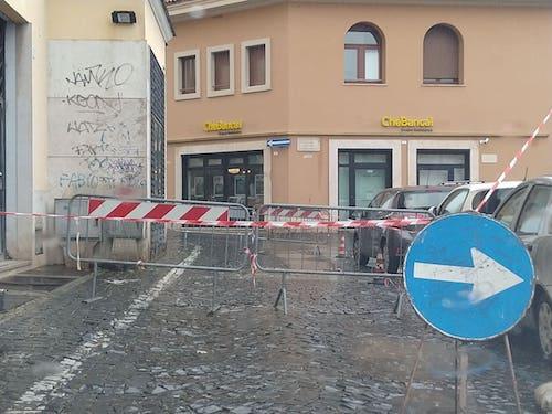 buca piazzaMazzini frascati