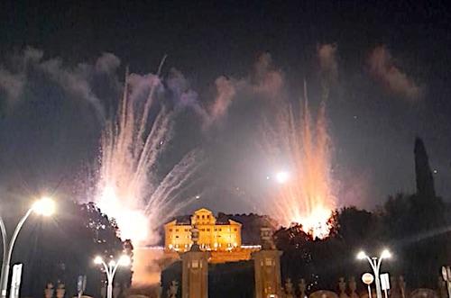 fuochi artificio villaAldobrandini ladyKitty ilmamilio