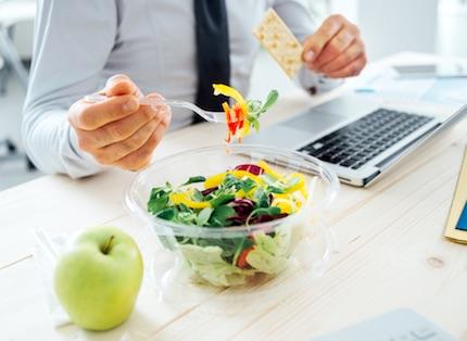 mangiare ufficio ilmamilio
