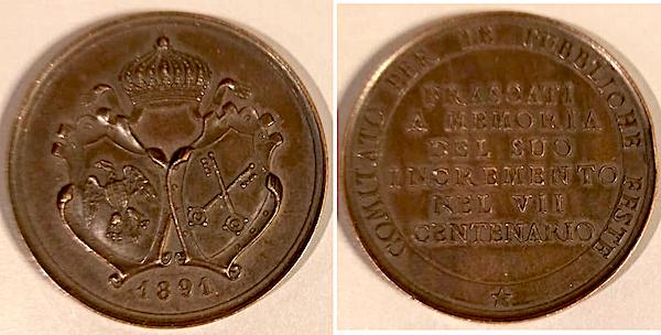 medaglia800anni frascati ilmamilio