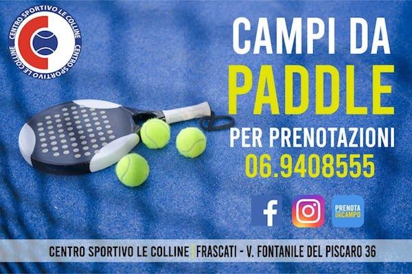 Grande novità al TC Le Colline di Frascati: arrivano 2 campi da ...