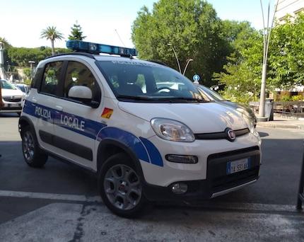 poliziaLocale Frascati11 ilmamilio