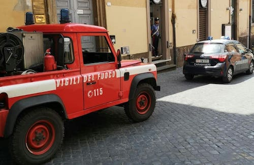 vvff carabinieri viaDiaz frascati ilmamilio