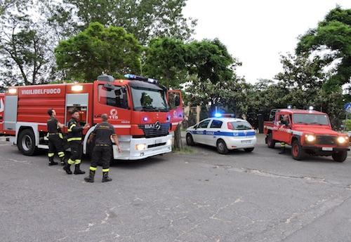 pompieri parco1 genzano ilmamilio