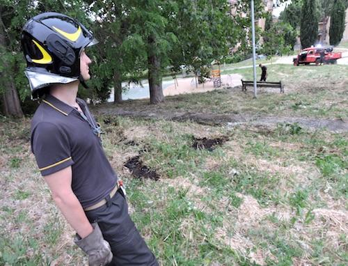 pompieri parco2 genzano ilmamilio