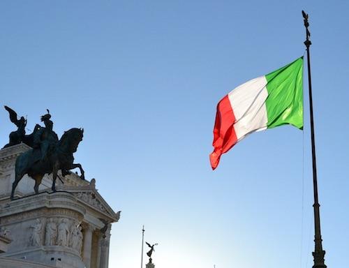 tricolore bandieraItalia vittoriano ilmamilio