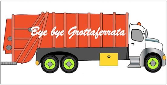 camion byebye rifiuti grottaferrata ilmamilio
