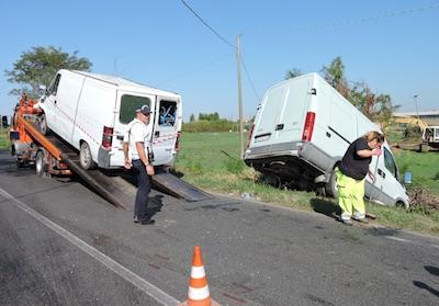 incidente furgoni lanuvio ilmamilio