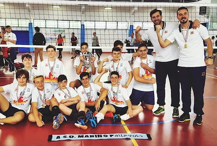 u14 bulls marino volley