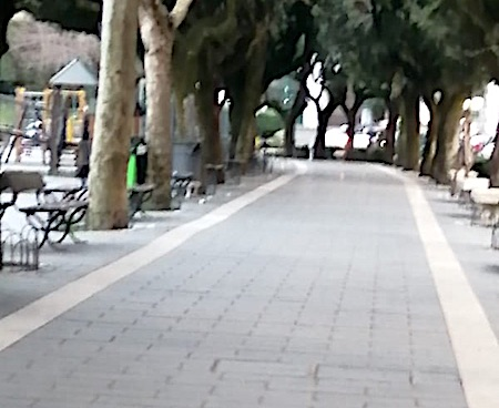montecompatri passeggiata vuota ilmamilio