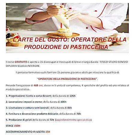 operatore pasticceria consorzio roma