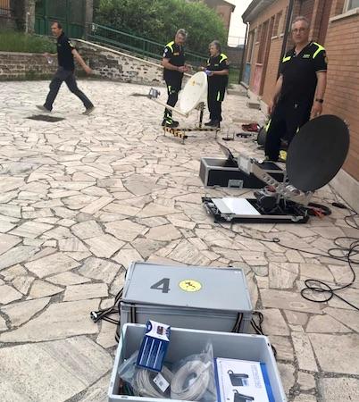 radioamatori esplosione roccadipapa
