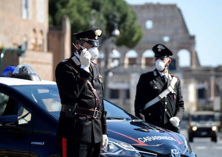 carabinieri covid 1 ilmamilio