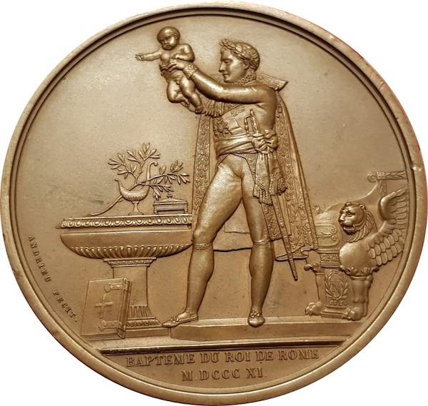 napoleoneII 1821 medaglia ilmamilio