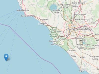 terremoto mare 190821 ilmamilio