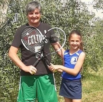 genitore figlio tennis1 ilmamilio