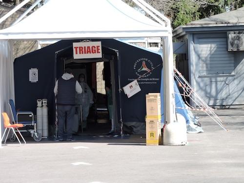 tenda triage velletri2 ilmamilio